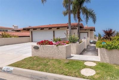 Palos Verdes Estates Single Family Home For Sale: 2633 Via Valdes