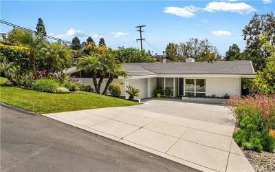 Palos Verdes Estates Single Family Home For Sale: 1708 Espinosa Circle
