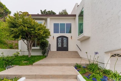 Rancho Palos Verdes Single Family Home For Sale: 30168 Avenida Tranquila