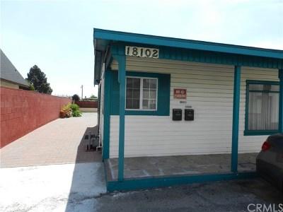 Torrance Multi Family Home For Sale: 18102 Prairie Avenue