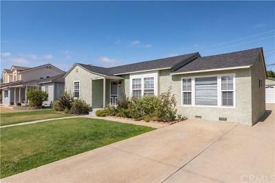 Torrance Single Family Home For Sale: 23305 Huber Avenue