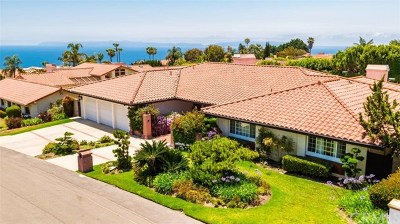 Rancho Palos Verdes Single Family Home For Sale: 6958 Alta Vista Drive