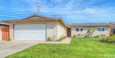Huntington Beach Single Family Home For Sale: 16562 Lucia Lane