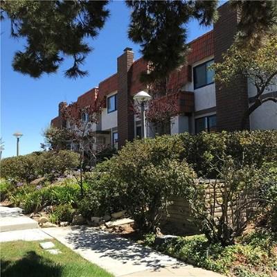 Rancho Palos Verdes Condo/Townhouse For Sale: 28152 Ridgecove Court S