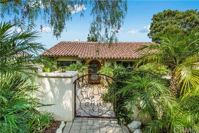 Los Angeles County Single Family Home For Sale: 4057 Via Valmonte
