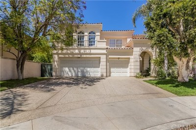 Calabasas Single Family Home For Sale: 23205 Park Corniche