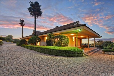 Rancho Palos Verdes Single Family Home For Sale: 28810 Crestridge Road