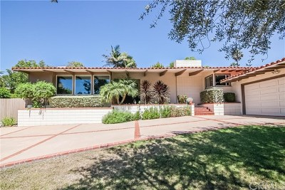 Los Angeles County Single Family Home For Sale: 1328 Via Gabriel