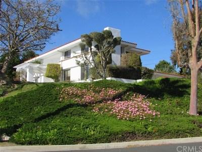 Los Angeles County Single Family Home For Sale: 1456 Via Coronel