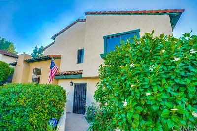 Rancho Palos Verdes Condo/Townhouse For Sale: 28647 Vista Madera