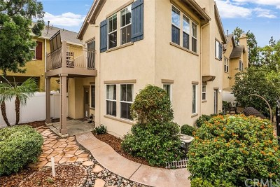 Irvine Condo/Townhouse For Sale: 7 Burlingame