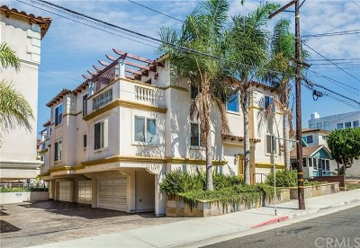 Hermosa Beach Condo/Townhouse For Sale: 613 1st Place