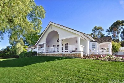 Rolling Hills Estates Single Family Home For Sale: 2676 Palos Verdes Drive N