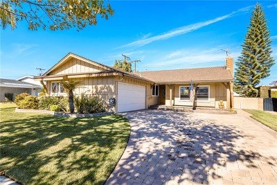 Torrance Single Family Home Active Under Contract: 2645 W 226th Street