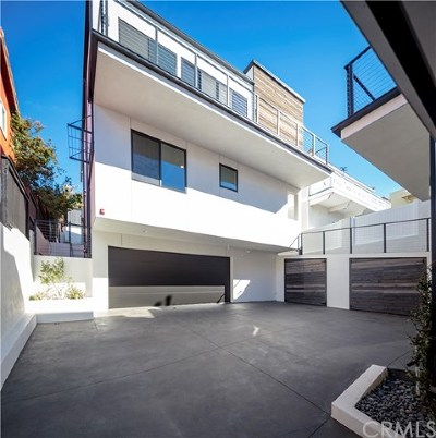 Los Angeles County Rental For Rent: 716 N Juanita Avenue #B