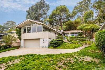 Los Angeles County Single Family Home For Sale: 2741 Palos Verdes Drive N