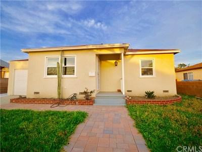 Gardena Single Family Home For Sale: 14808 S Orchard Avenue