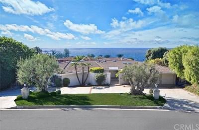 Palos Verdes Estates Single Family Home For Sale: 2805 Via Neve