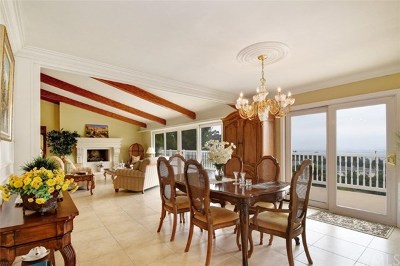 Rancho Palos Verdes Single Family Home For Sale: 15 Rockinghorse Road