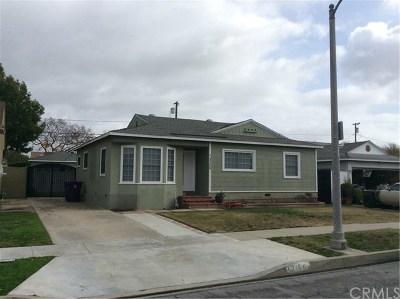 Long Beach Single Family Home For Sale: 3726 Nipomo Avenue