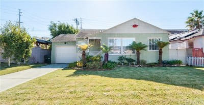 Los Angeles County Single Family Home For Sale: 2614 Armour Lane