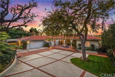 Palos Verdes Estates Single Family Home For Sale: 2717 Via Elevado