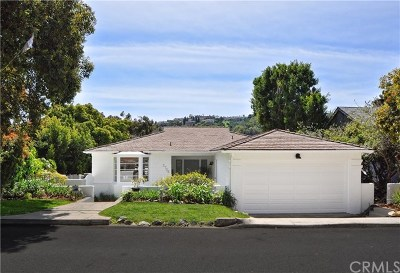 Los Angeles County Single Family Home Active Under Contract: 2756 Via Anita