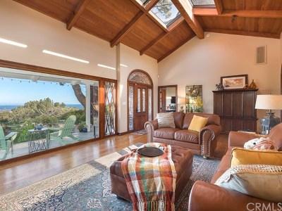Rancho Palos Verdes Single Family Home For Sale: 33 Avenida Corona