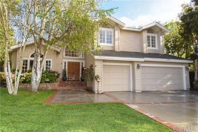 Rancho Palos Verdes Single Family Home For Sale: 28876 King Arthur Court