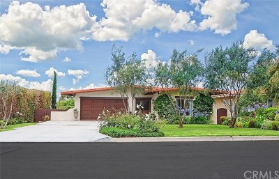 Single Family Home For Sale: 1605 Via Montemar