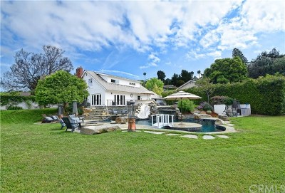 Rolling Hills Estates Single Family Home For Sale: 1 Harbor Sight Drive