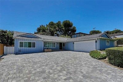 Rancho Palos Verdes Single Family Home For Sale: 7 Packet Road