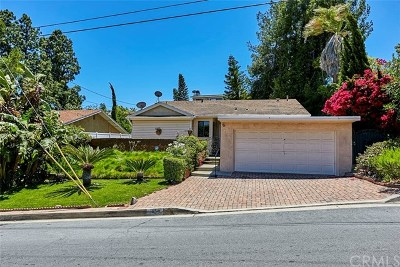 Rancho Palos Verdes Single Family Home For Sale: 1854 W Crestwood Street