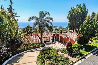 Los Angeles County Single Family Home For Sale: 1349 Via Zumaya