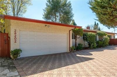Rancho Palos Verdes Single Family Home For Sale: 28202 Ambergate Drive