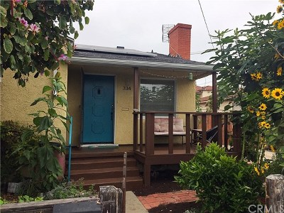 San Pedro Single Family Home Active Under Contract: 334 W 17th Street