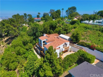 Rancho Palos Verdes Single Family Home For Sale: 49 Rockinghorse Road