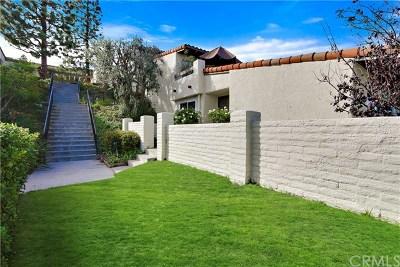 Palos Verdes Estates, Rancho Palos Verdes, Rolling Hills Estates Condo/Townhouse For Sale: 25 Oaktree Lane