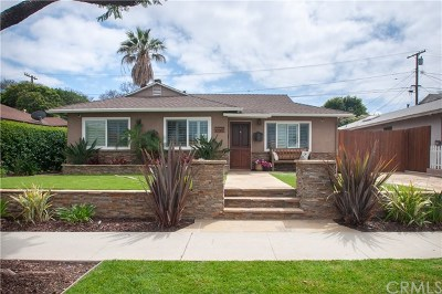 Torrance Single Family Home For Sale: 2722 Dalemead Street