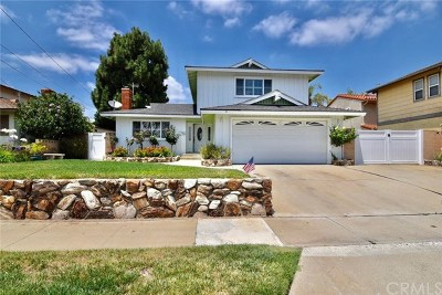 Torrance Single Family Home Sold: 2215 W 229th Pl