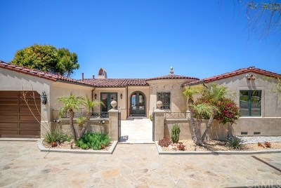 Palos Verdes Estates Single Family Home For Sale: 253 Rocky Point Road
