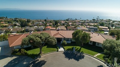 Rancho Palos Verdes Single Family Home Active Under Contract: 7241 Avenida Altisima