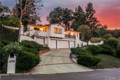 Palos Verdes Estates Single Family Home For Sale: 2756 Via Campesina
