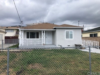 Torrance Multi Family Home For Sale: 1605 W 205th Street