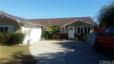 Costa Mesa Single Family Home For Sale: 2974 Milbro Street