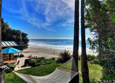 Laguna Beach Single Family Home For Sale: 31921 Coast Hwy