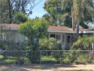 Norco Single Family Home For Sale: 3160 Sierra Avenue