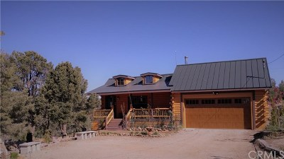 Big Bear CA Single Family Home For Sale: $439,000
