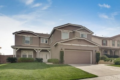 Corona Single Family Home For Sale: 27890 Red Cloud Road
