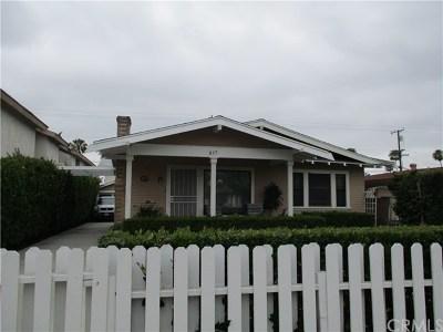 Anaheim Multi Family Home For Sale: 835 S Claudina Street